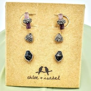 Trio of Mini Studs